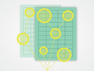 Illustration of evaluating focal points
